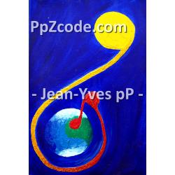 Peinture 8 Terre Ciel